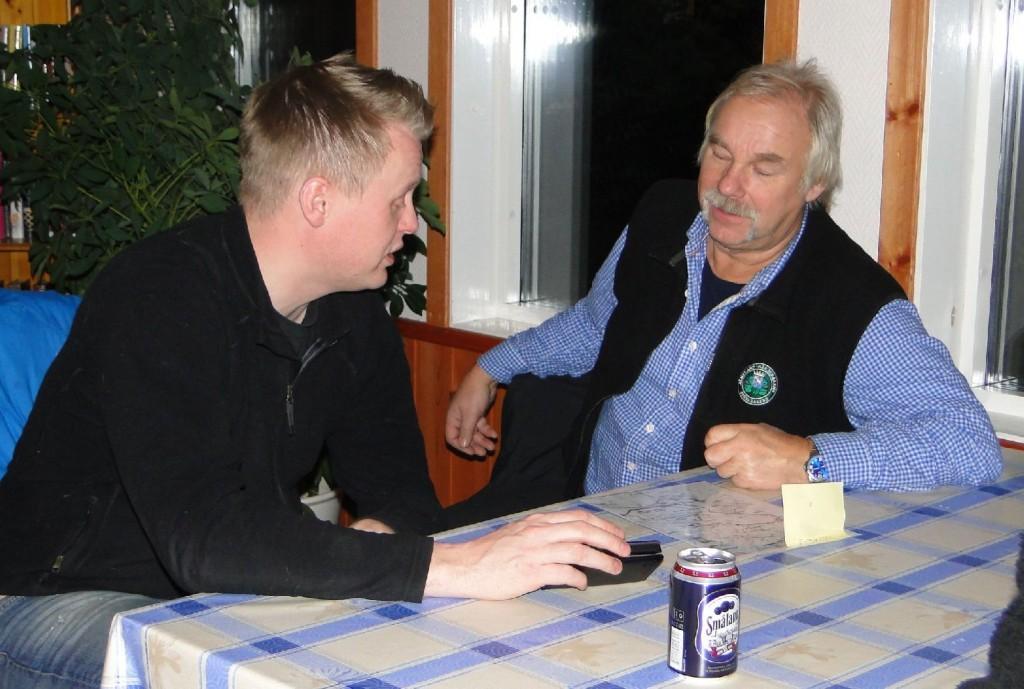Johan Hansson och Curt Alstergren