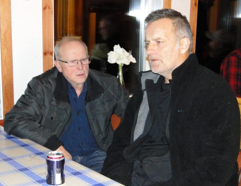 Örjan Wikander och Martin Magnusson