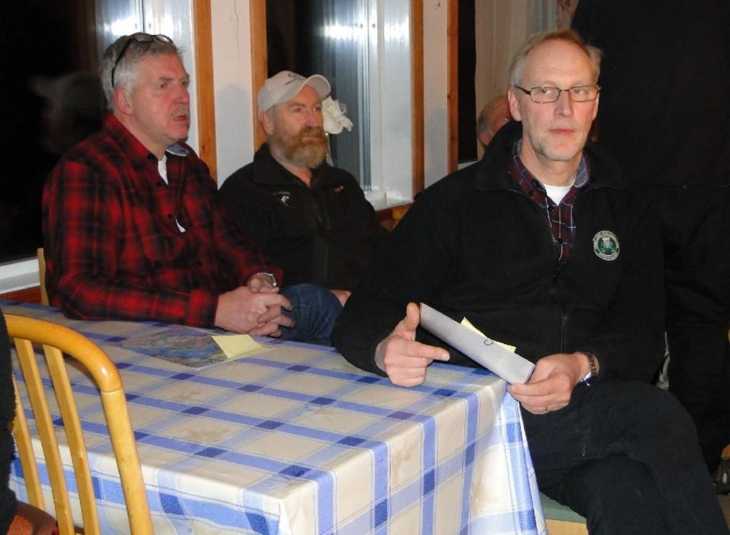 Jan-Erik Eriksson, Hans Christian Pedersen och Mats Eriksson