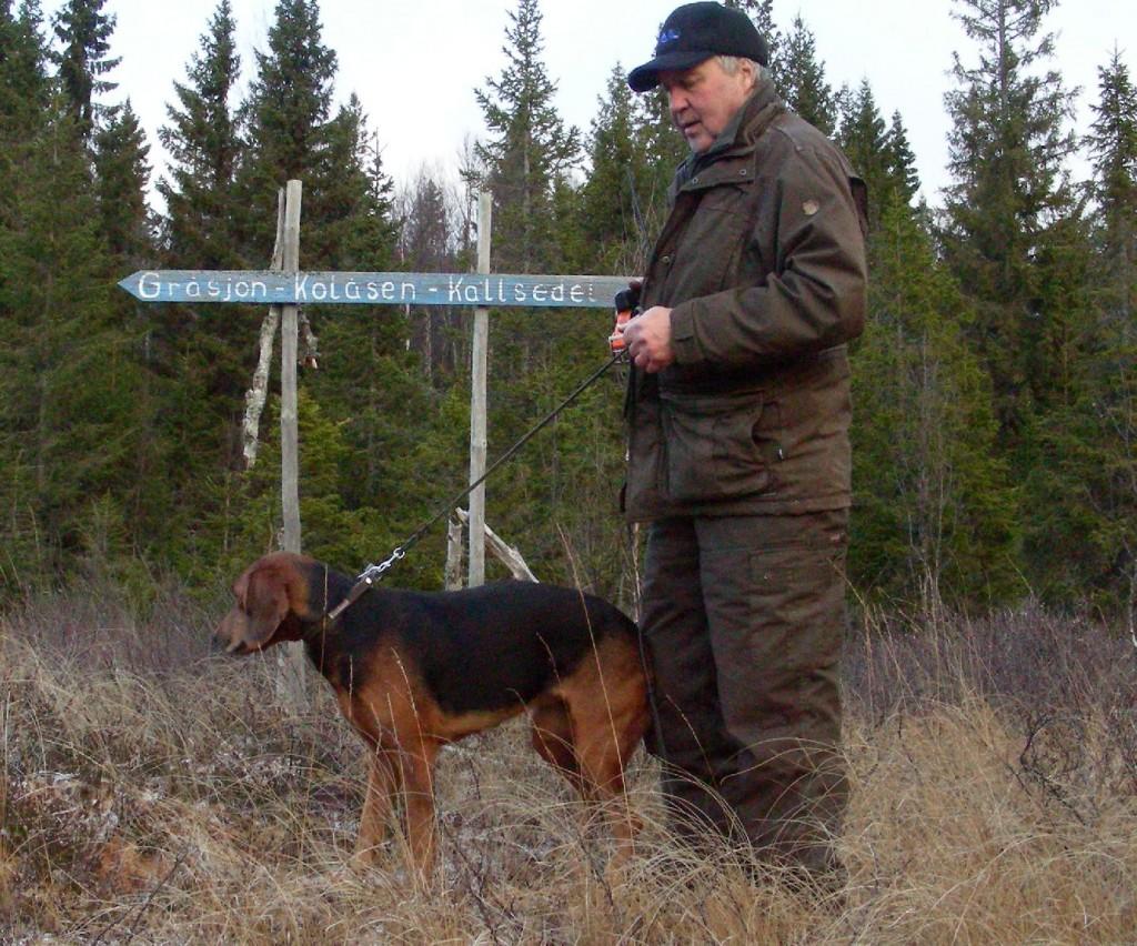 Sch. Kronefjällets Nelli-07 och Ragnar Eriksson (Foto Göran Blixt)