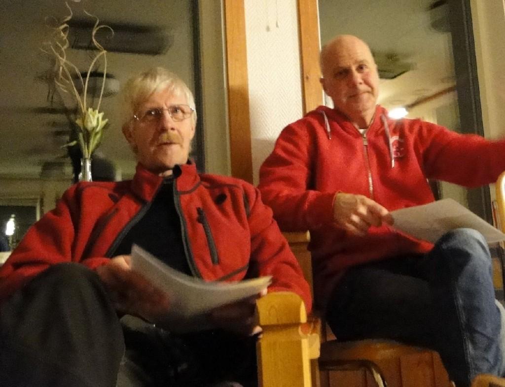 Göran Blixt och Sven-Olof Nilsson