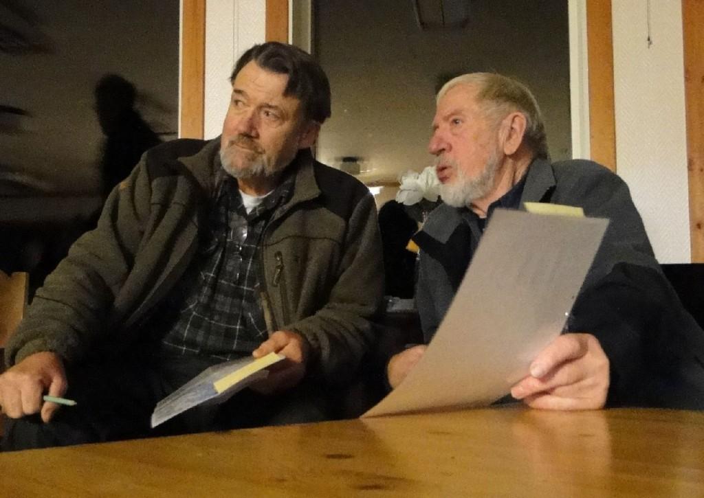 Krister Olsson och Ernst Bjureflo