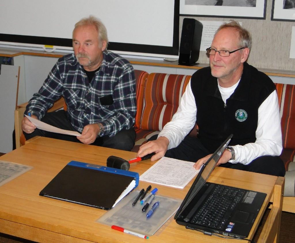 Curt Alstergren och Mats Eriksson