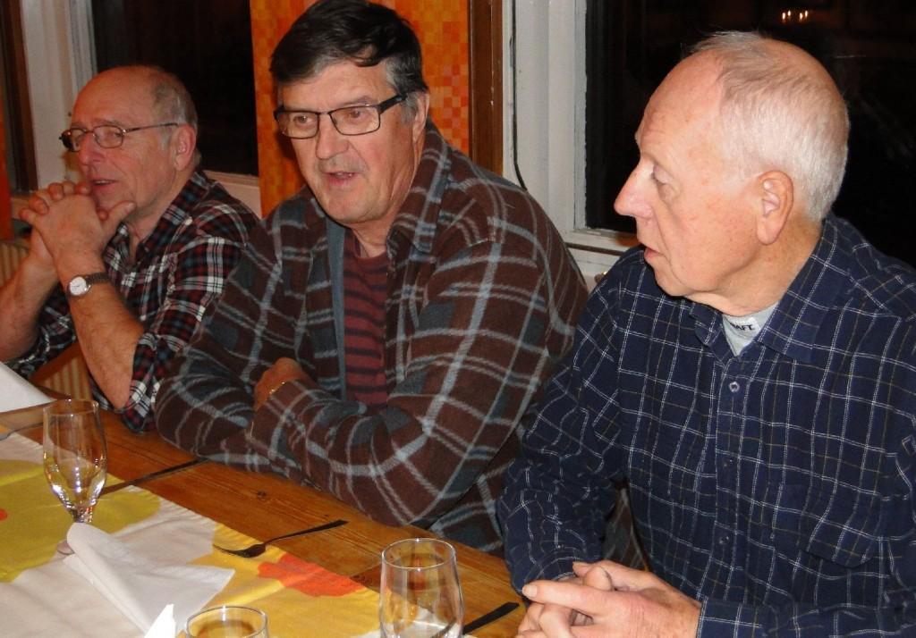 Hans Gustavsson, Sven-Gunnar Jansson och Sören Rehnman