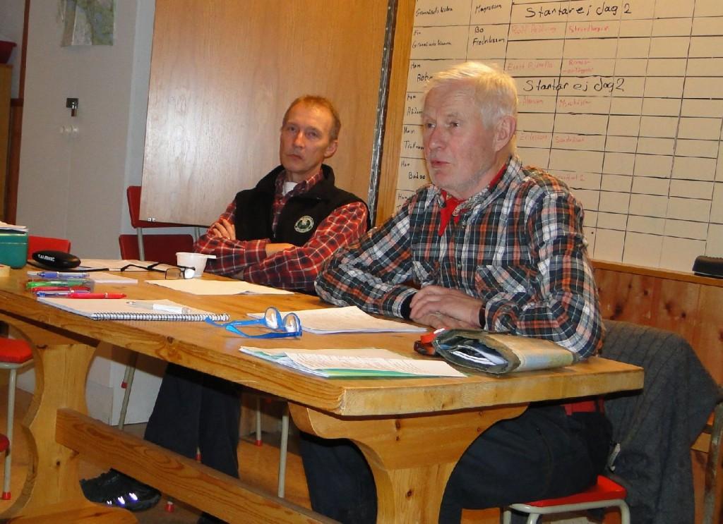 Kommissarie Stefan Andersson och fullmäktige Lars O Törnkvist