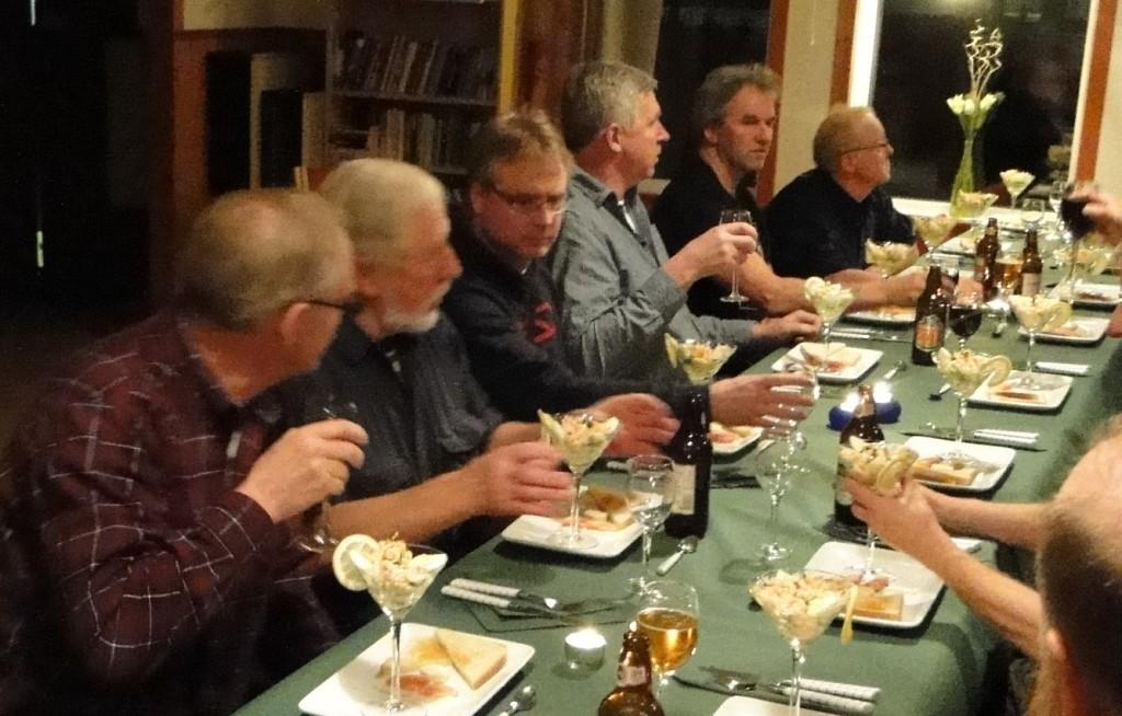 Mats Eriksson, Ernst Bjureflo, Leif Aronsson, Jan-Erik Eriksson, Arne Olofsson och Örjan Wikander
