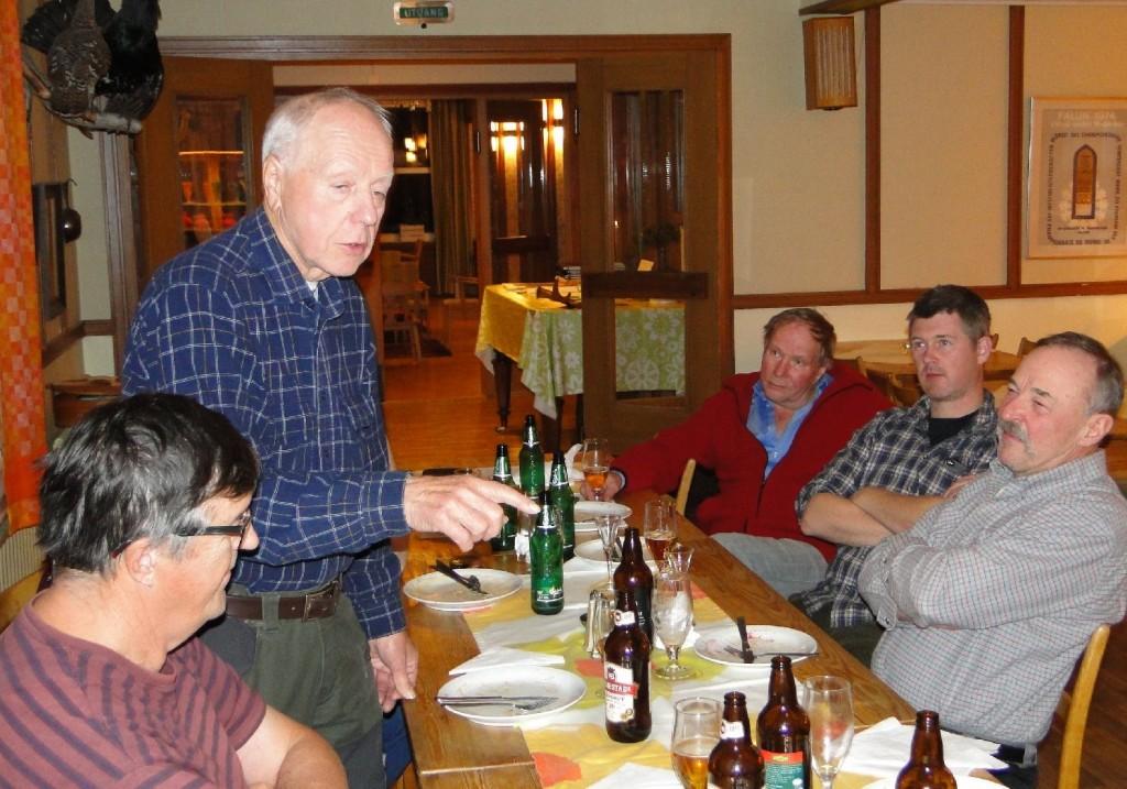Sven-Gunnar Jansson, Sören Rehnman, Sune Simonsson, Ulf Sivberg och Ivan Myhr