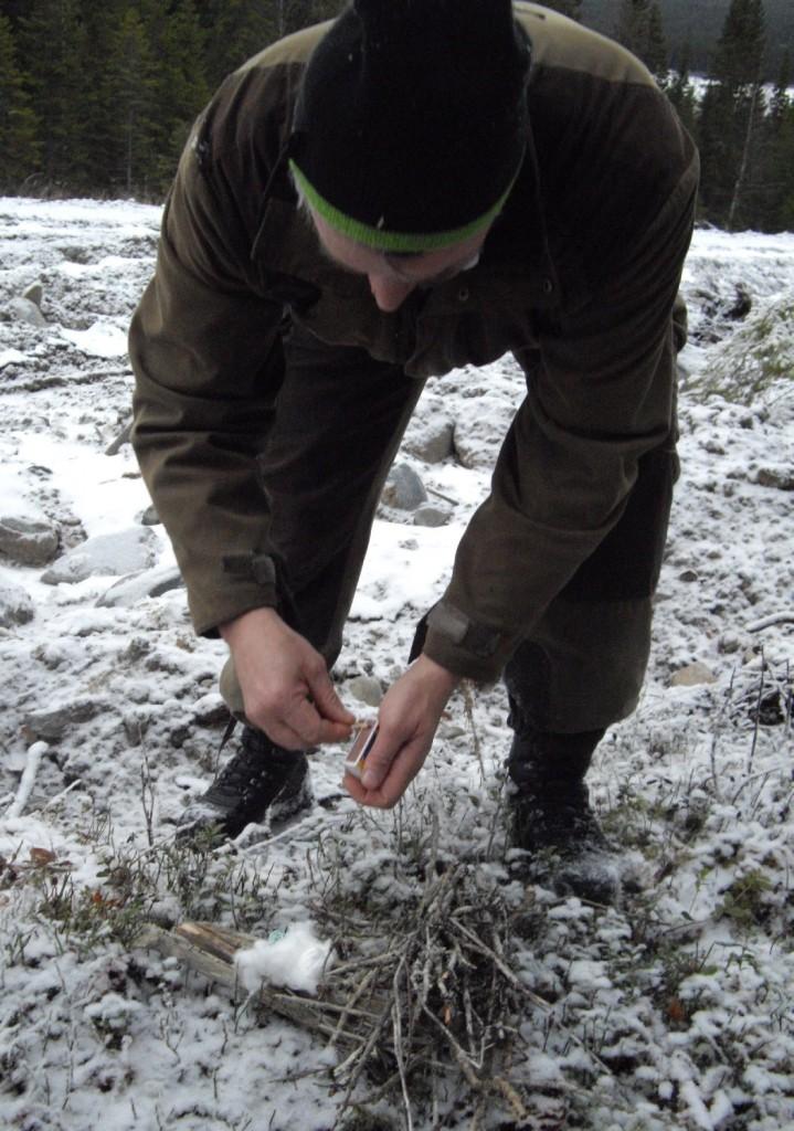 Vaddtussen som eldtänne är en oanvänd tampong, tips från Arne Olofsson