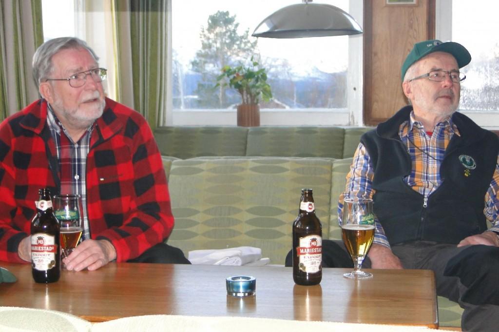 Carl-Gunnar Hågnäs och Dennis Sjöö