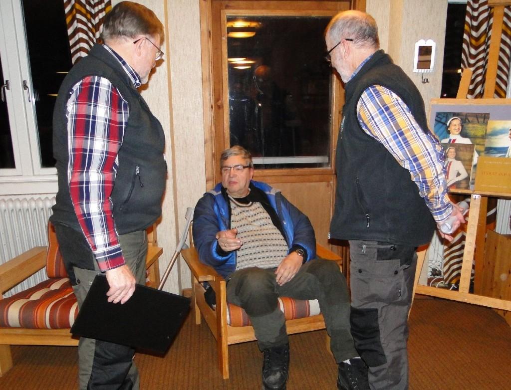 Carl-Gunnar Hågnäs, Sven-Eric Gerdin och Dennis Sjöö