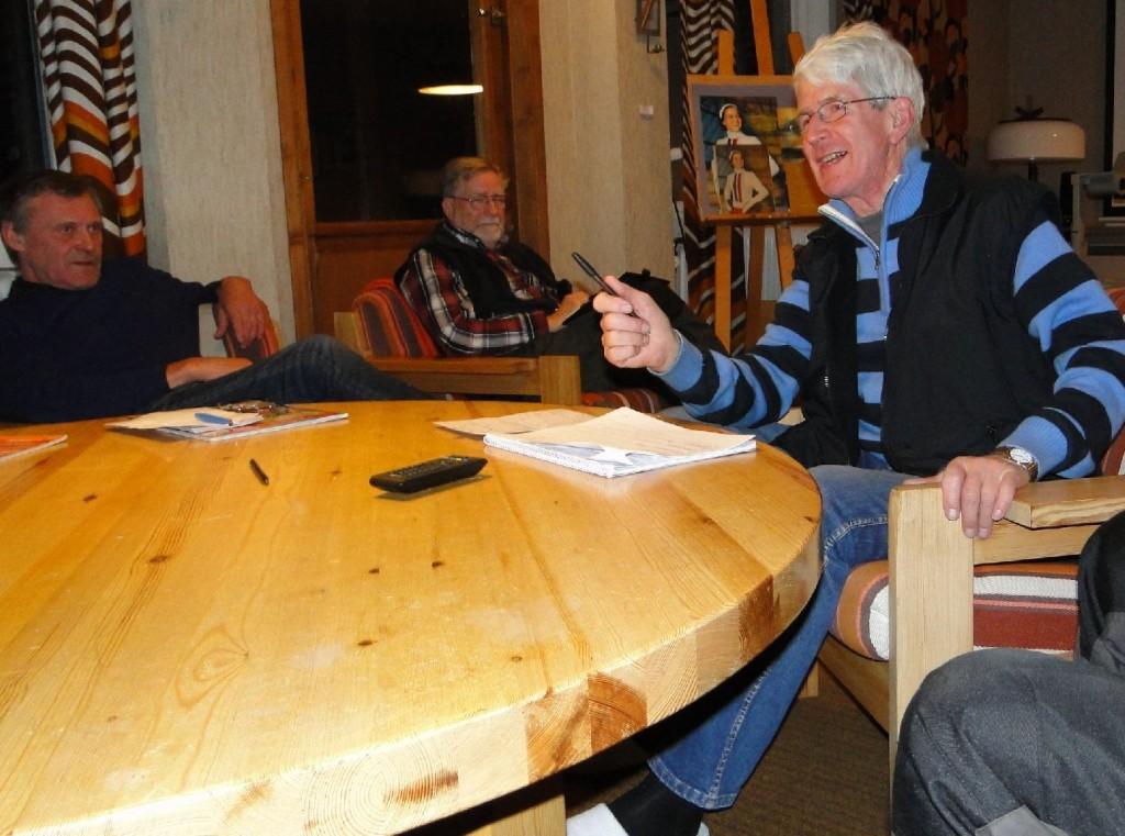 Rasmus Olsson, Carl-Gunnar Hågnäs och Rolf Pellving