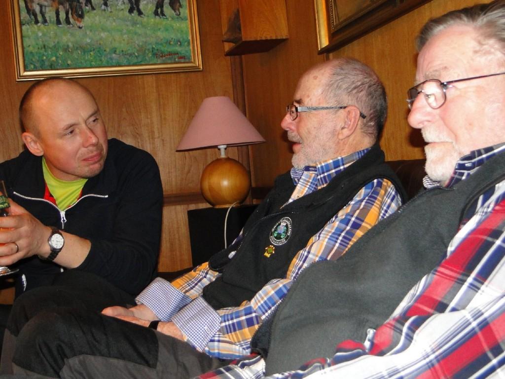 Erik Wassdahl, Dennis Sjöö och Carl-Gunnar Hågnäs