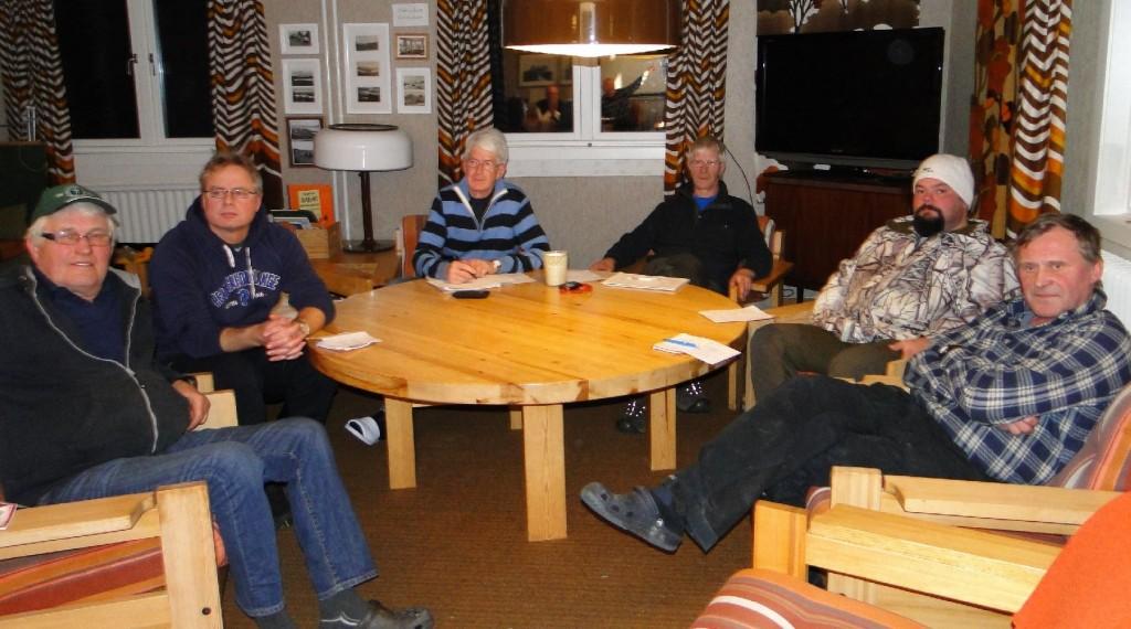 Ulf Hagen, Leif Aronson, Rolf Pellving, Göran Blixt, Fredrik Nordin och Rasmus Olsson