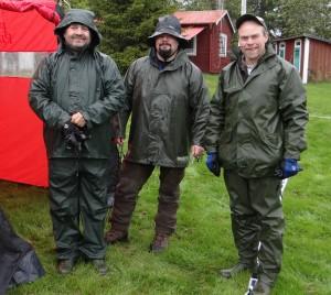 Bo-Lennart Eriksson, Fredrik Nordin och Bertil Andersson