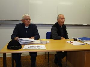 Fullmäktige Göran Olgarsson och Åke Holmgren