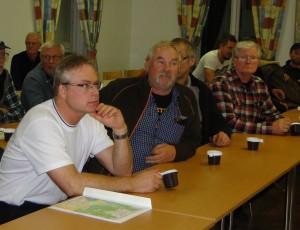 Leif Aronsson, Curt Alstergren, Bo Fredriksson (skymd) och Thord Berglund