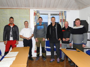 Jörgen Nyberg, Leif Aronsson, Patric Nilsson, Martin Magnusson, Kent Stattin och Henrik Kårén