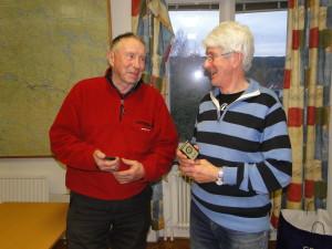 Lagledare Roland Marklund och Rolf Pellving