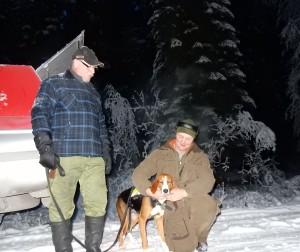 Fin. Ismans Kikka-12 med Elnar Klots och Jörgen Gärdin (Foto Göran Blixt)