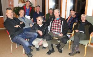 Martin Magnussson, S Andersson, C Alstergren, J-E Eriksson, B Fredrikson, K Åkesson, T Berglund, G Nyborg, G Blixt