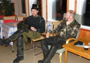 Göran Nyborg och Lars Wiktorsson