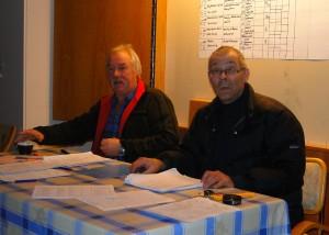 Fullmäktige Curt Alstergren och kommissarie Bo Fredriksson