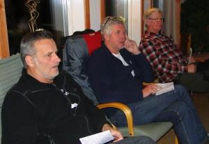 Martin Magnusson, Jan-Erik Eriksson och Thord Berglund
