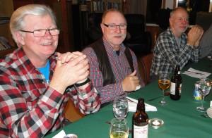 Thord Berglund, NN och Tommy Pettersson