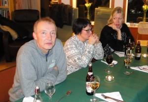 Stefan Andersson, Marita Lithander och Helena Wiktorsson