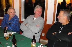 Curt Alstergren, Jan-Erik Eriksson och Martin Magnusson