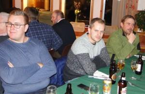Kjetill Nygaard, Rune Gjengedal och Gustav Johansson