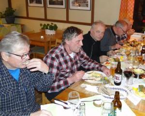 Magnus Frisk, Rasmus Olsson, Jörgen Widegren, Mats Eriksson, Curt Alstergren