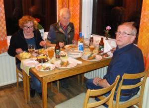 Ulla Vikander, Lars O Törnkvist och Örjan Vikander