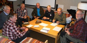 Rasmus Olsson, Lars O Törnkvist, Curt Alstergren, Jan-Erik Wickenberg, Göran Blixt, Jörgen Widegren och Mats Eriksson