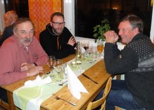 Ivan Myhr, Fredrik Andersson och Jan Swartström