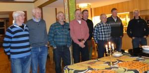 Rolf Pellving, Lars O Törnkvist, Curt Alstergren, Ivan Myhr, Per Roos, Jörgen Widegren, Jan Swartström och Göran Blixt