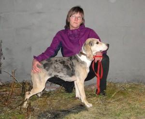 Dun. Tortåsens Koira-13 och Linda Bekknes
