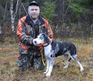 Dun. Trollfossens Ylva-13 och lars Erling Eriksen