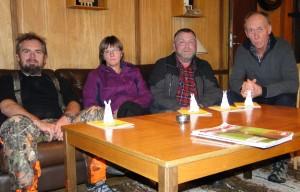 Nord-Tröndelag Harehundklubb - Oddmund Austheim, Linda Bekknes, Lars Erling Eriksen och Ottar Lynum