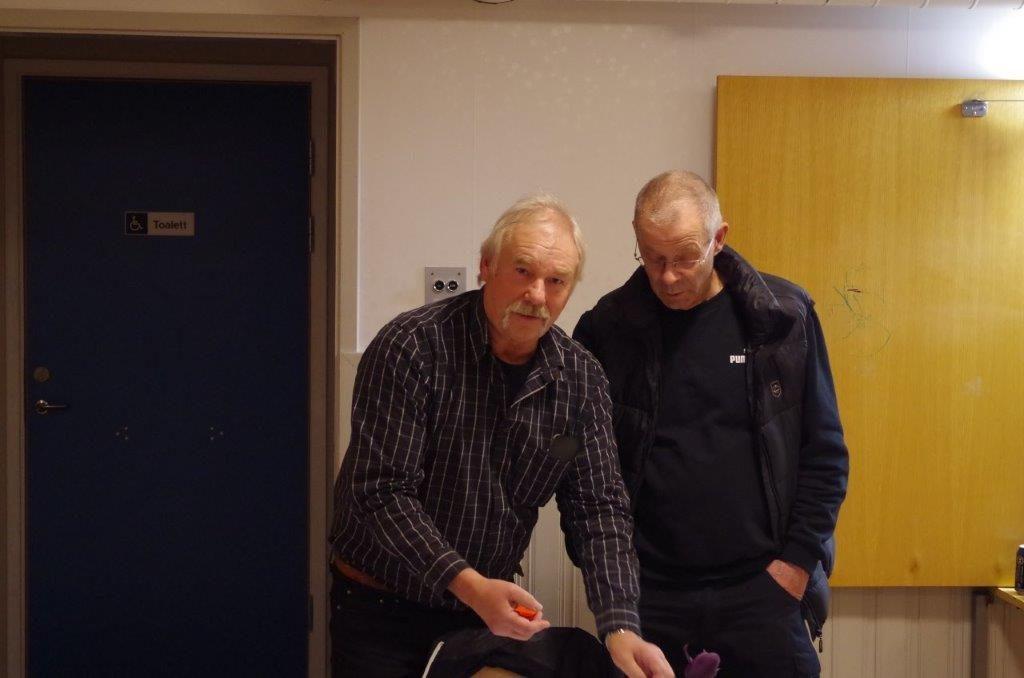 Curt Alstergren och Bosse Fredriksson Foto: Per Roos