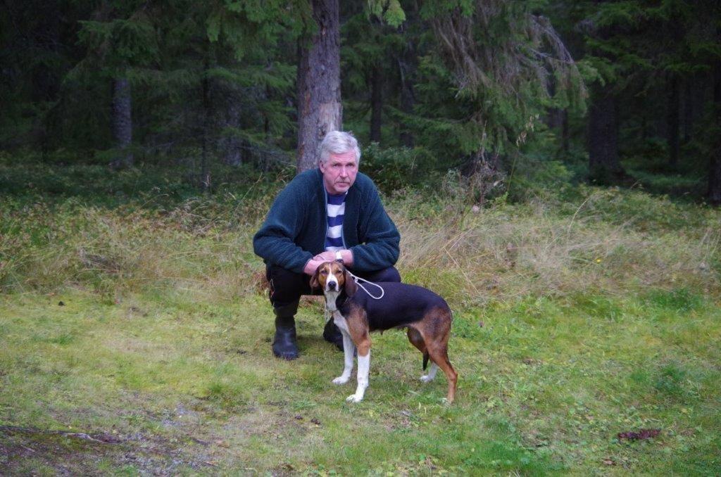 Fin. Högälgens Ruska-10 och Jan-Erik Eriksson Foto: Per Roos