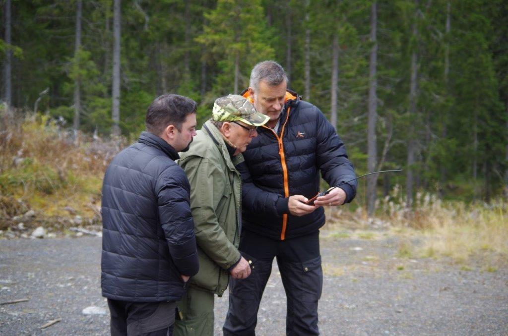 Fredrik Nordin, Billy Hedin och Martin Magnusson Foto: Per Roos