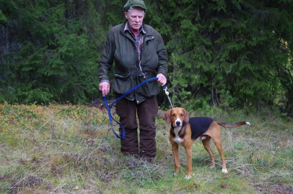 Ham. Åhlstigens Benjo-14 och Bengt-Ove Månsson Foto: Per Roos