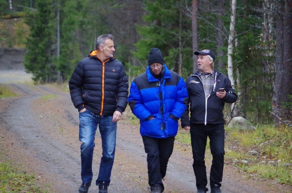Martin Magnusson, Bosse Fredriksson och Curt Alstergren Foto Per Roos