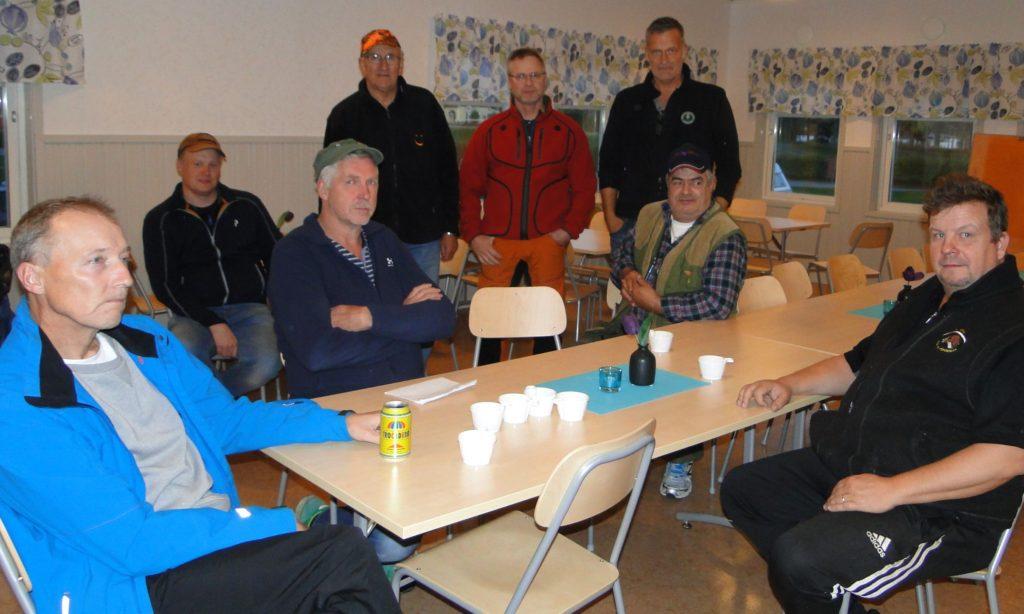 Stefan Andersson, Johan Hansson, Jan-Erik Eriksson, Bengt-Åke Persson, Leif Aronsson, Martin Magnusson, Emanouil Strantzalis och Kjell-Åke Sundberg