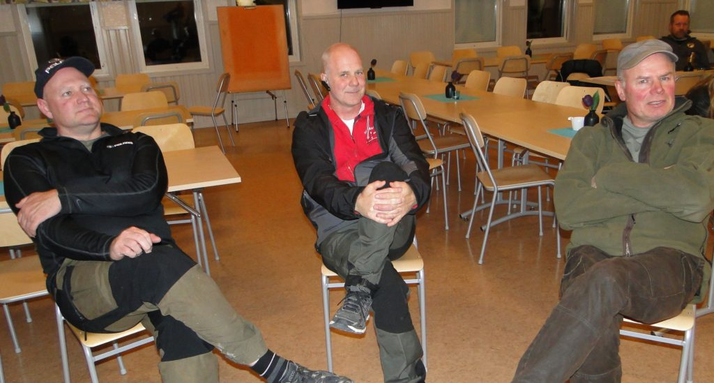 Lars Olofsson, Sven-Olof Nilsson och Jan Kardin