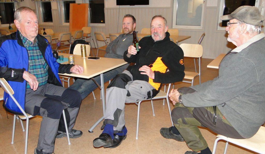 Jan-Erik Hellman, Jimmie Guttormsson, Ivan Myhr och Jan-Erik Wickenberg