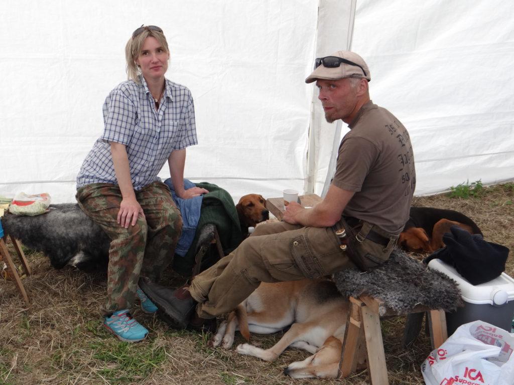 Ryska montern med Anna Nordén och Peter Forsberg