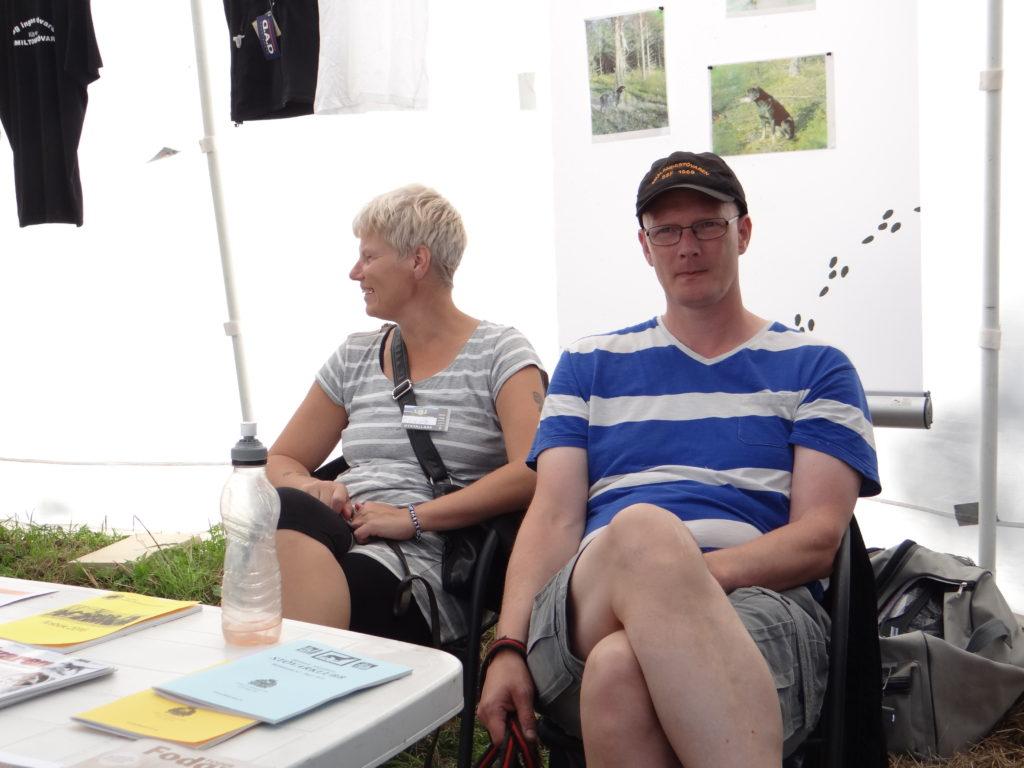 Smålandstövarmontern med Åsa och Anders Klockerud