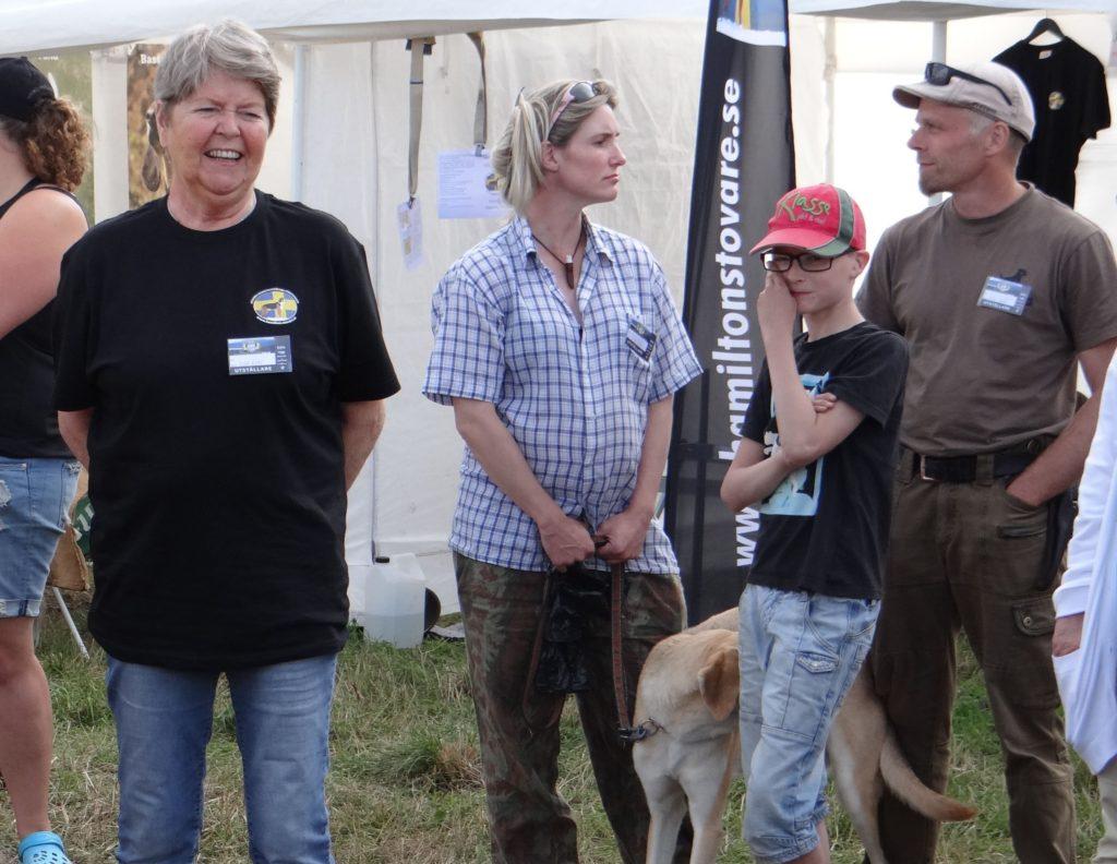 Margareta Olson, Anna och Arnbjörn Nordén samt Peter Forsberg